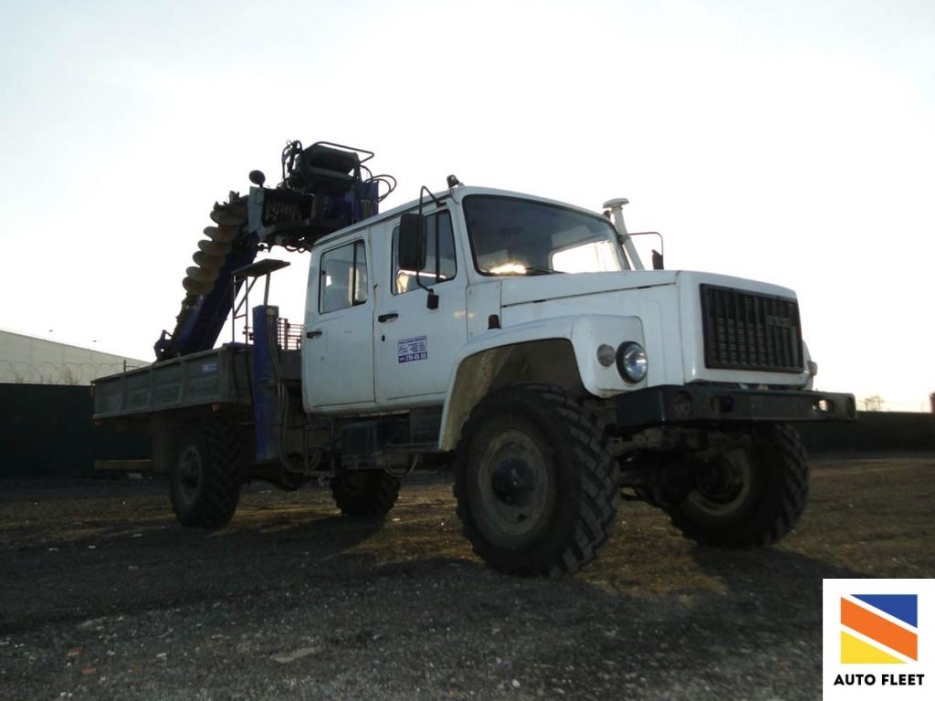 Буровая установка ГАЗ ГАЗ-66