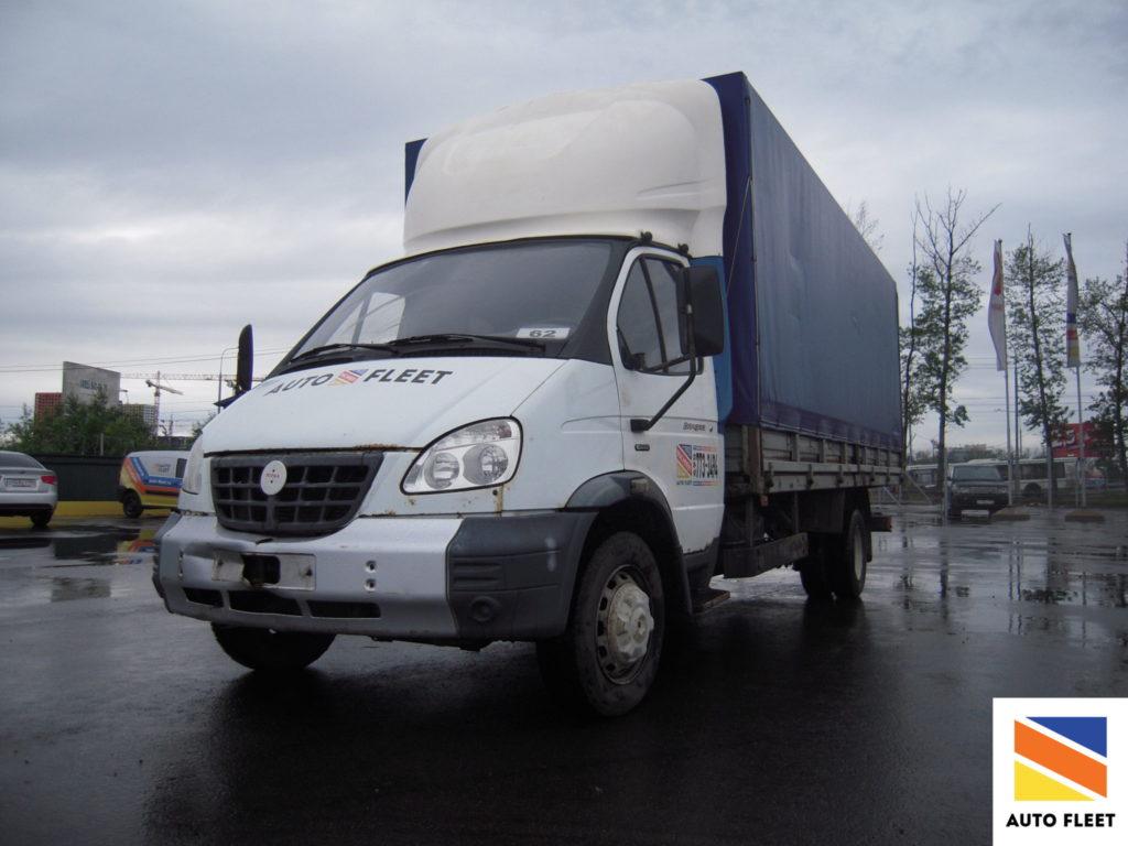 ГАЗ-2834 грузовик борт-тент