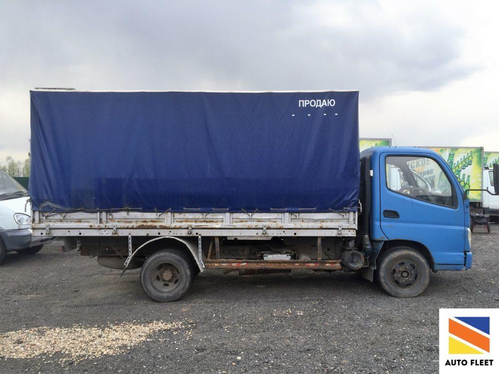 Foton AB73P1BJ - бортовой грузовик