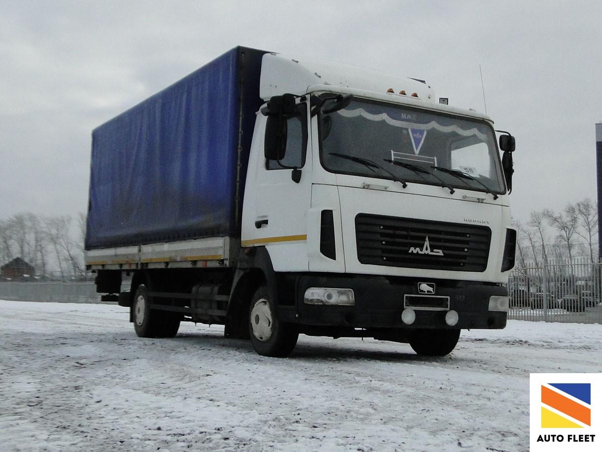 Маз 4371Р2 - 432-000 фургон грузовой бортовой