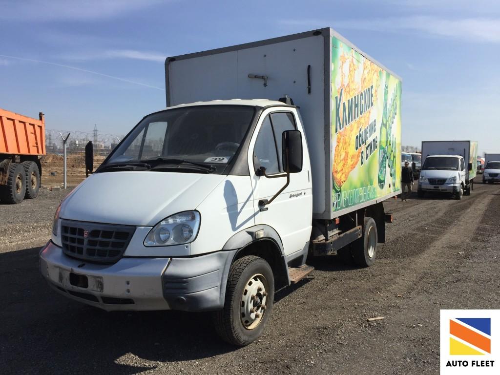ГАЗ 331 061 - ВАЛДАЙ изотермический фургон