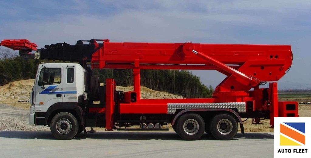 Автовышка Jinwoo SMC 400kg 70м