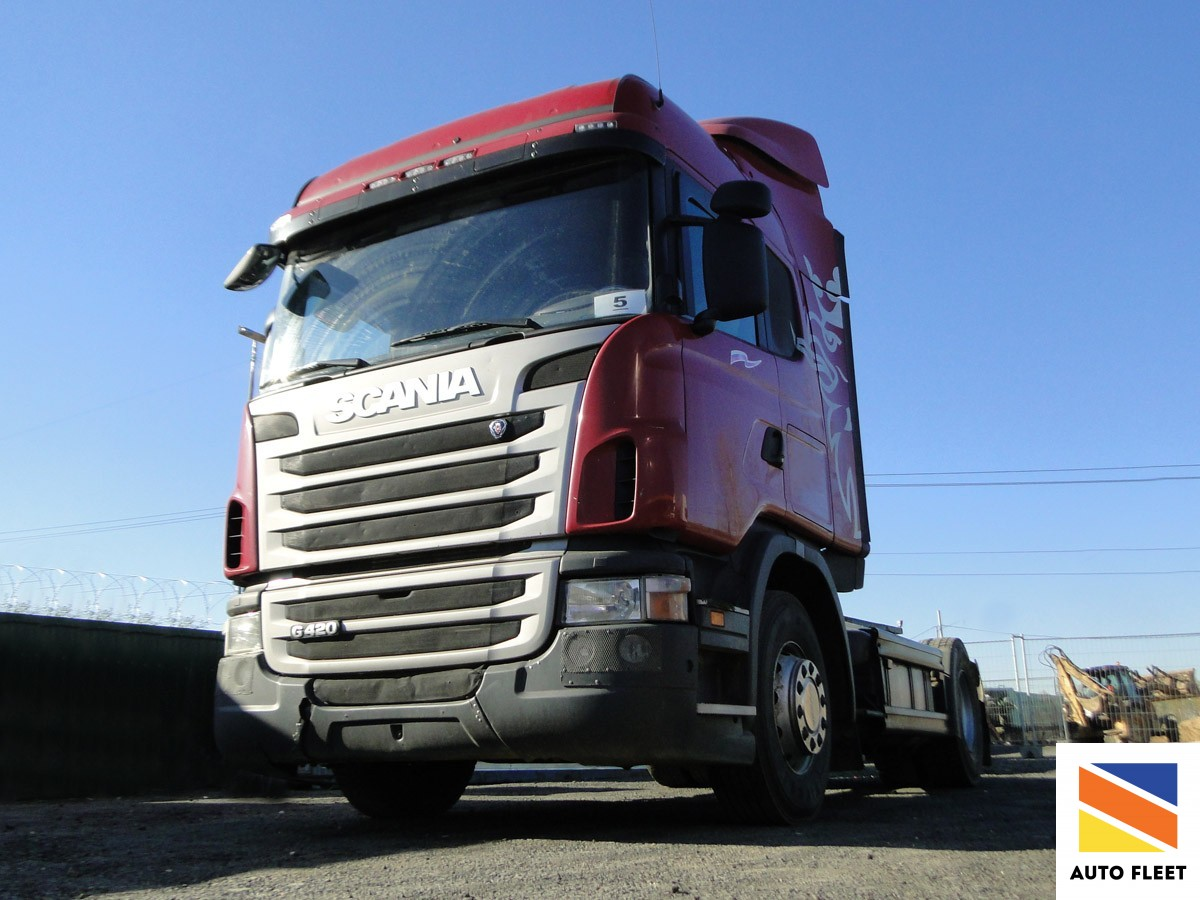 Scania G420 тягач седельный