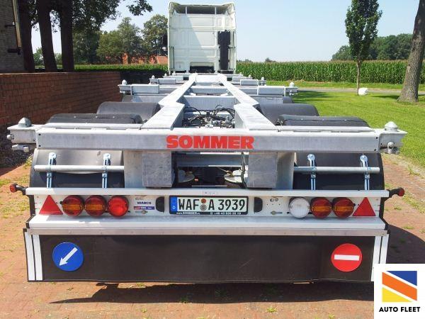 Sommer 4-осный полуприцеп-контейнеровоз