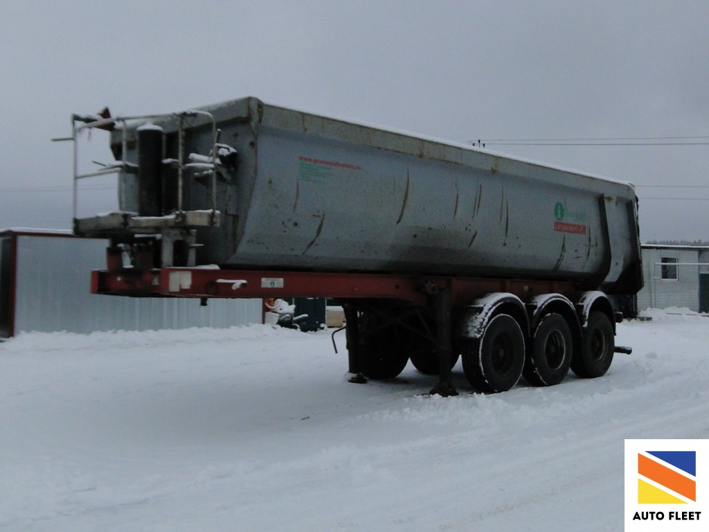 Grunwald 9539 - полуприцеп самосвальный