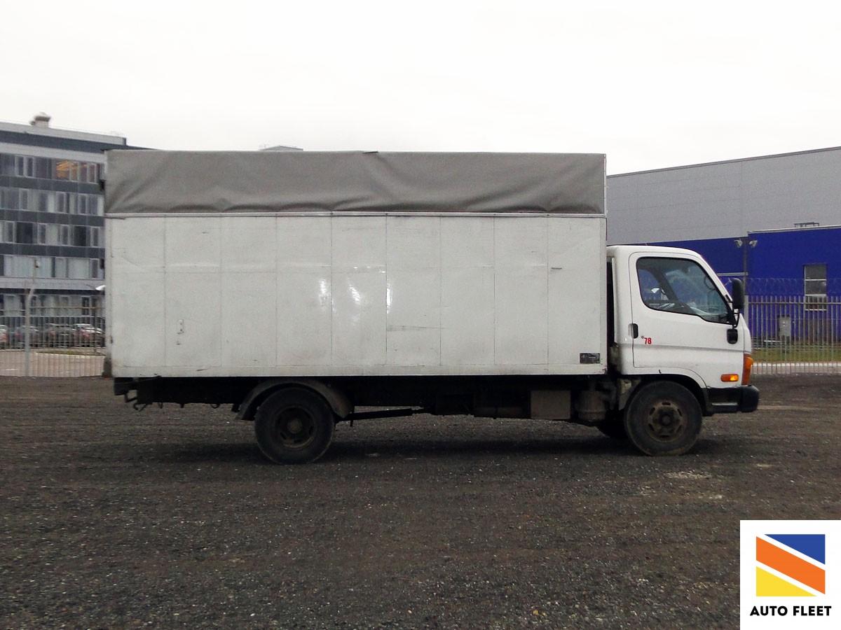 Hyundai HD72 –грузовой фургон