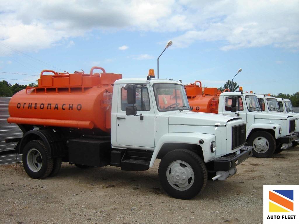 Бензовоз на базе ГАЗ