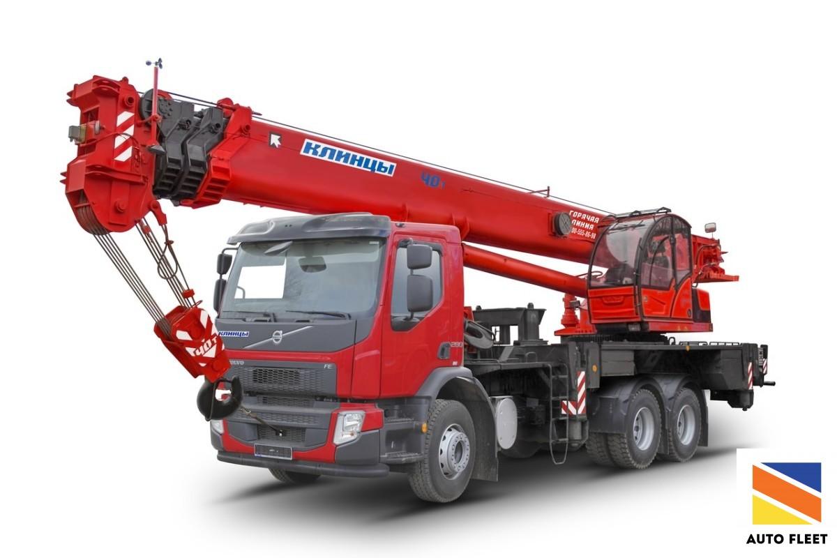 Клинцы автокран 40 тонн Стрела 31