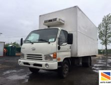 Hyundai HD 78 грузовой изотермический фургон