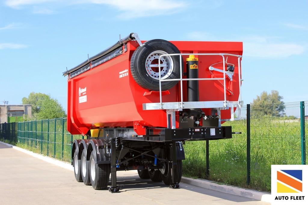 Grunwald Tipper semitrailer