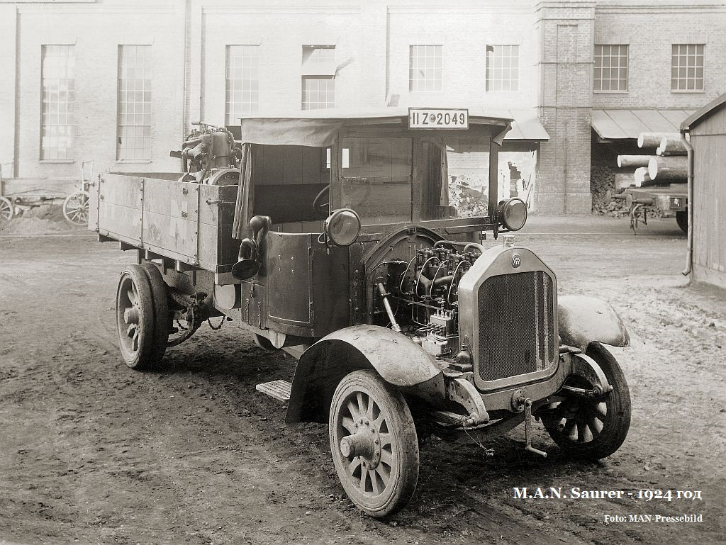 MAN-SAURER грузовик