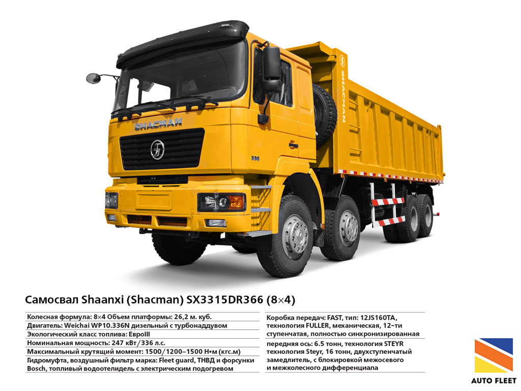 Shaanxi (Shacman) SX3315DR366
