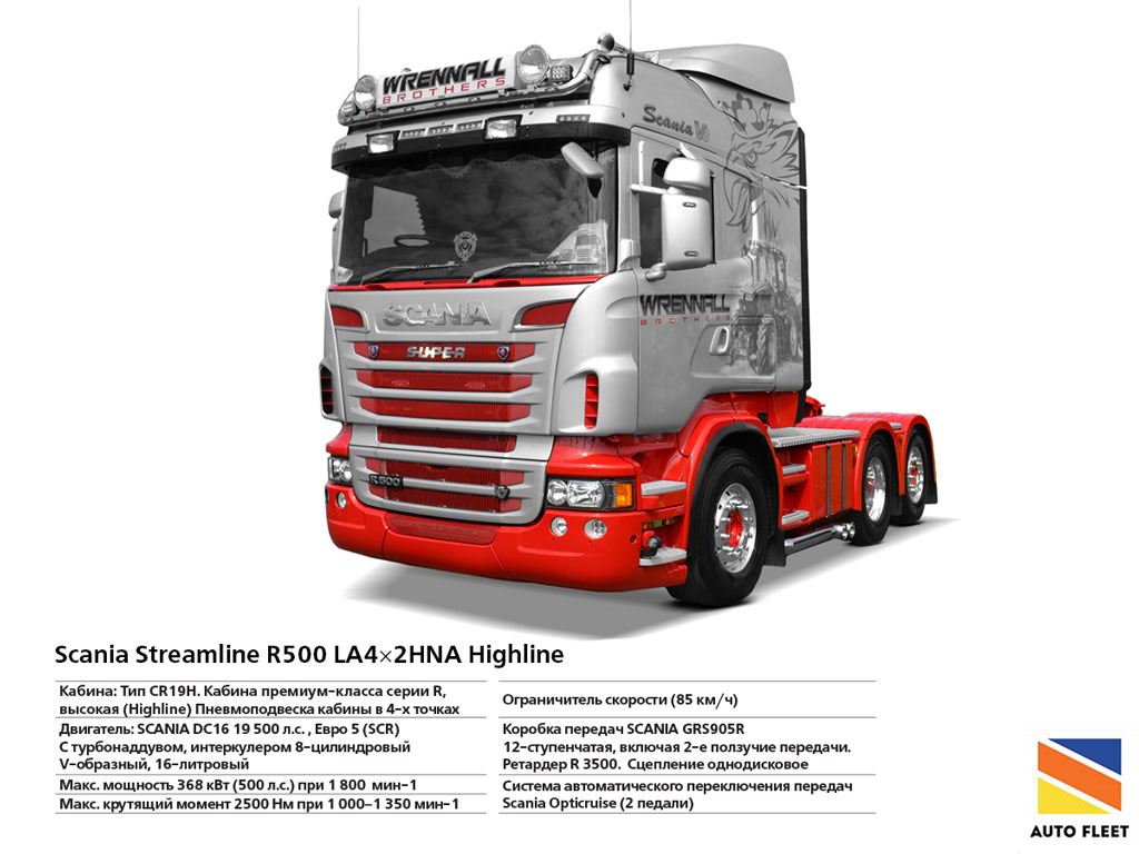 Scania Streamline R500 LA4×2HNA Highline. ВЫКУП, ПРОДАЖА, КОМИССИЯ