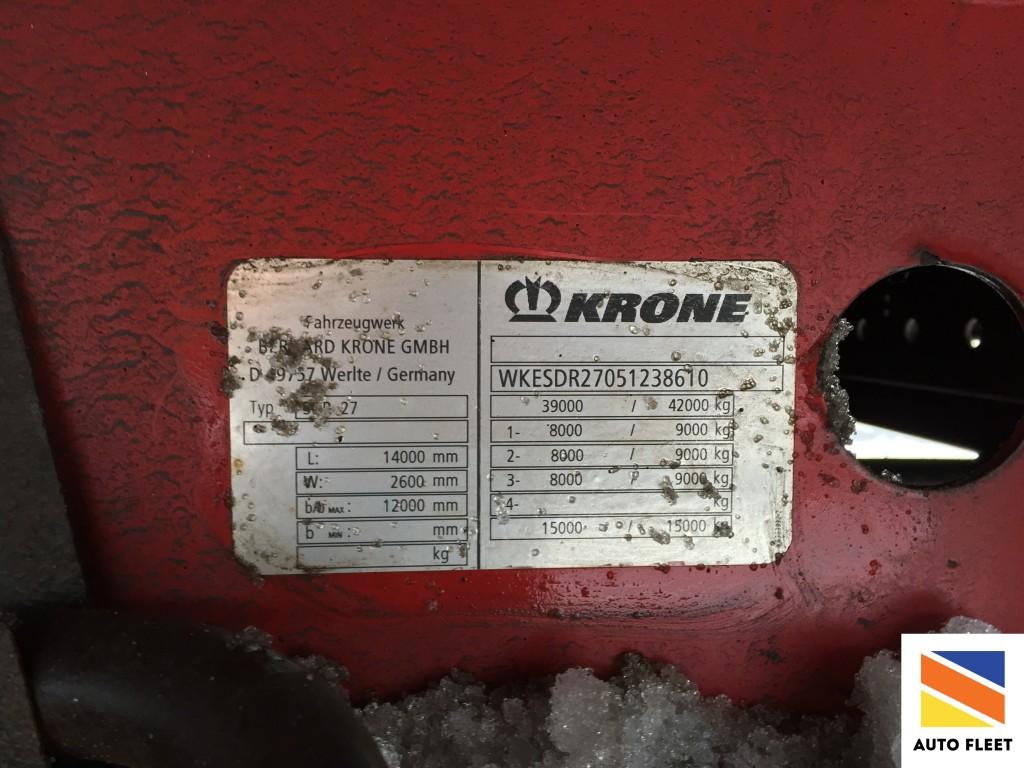 Krone SDR 27 - рефрижератор