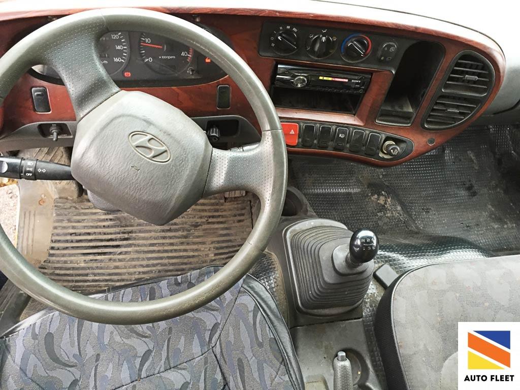 Hyundai HD 72 Грузовой фургон