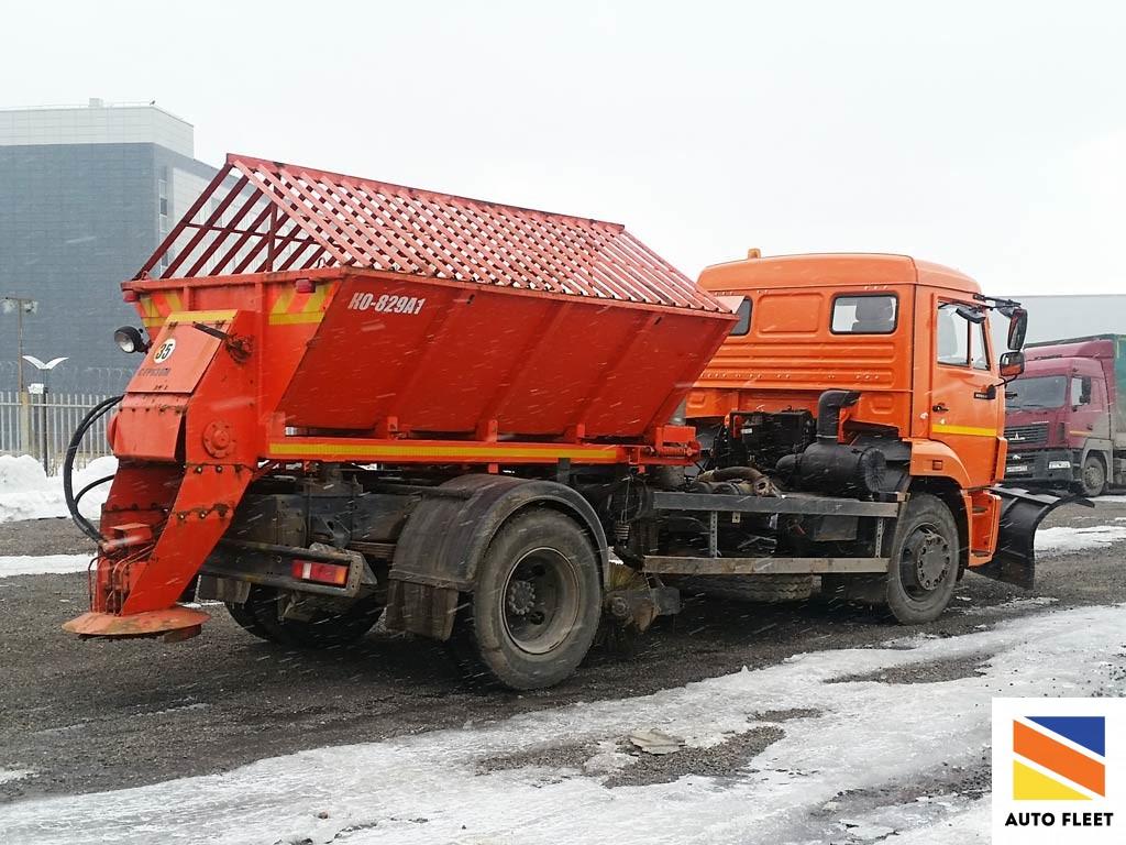 KO 829А1 Машина дорожная