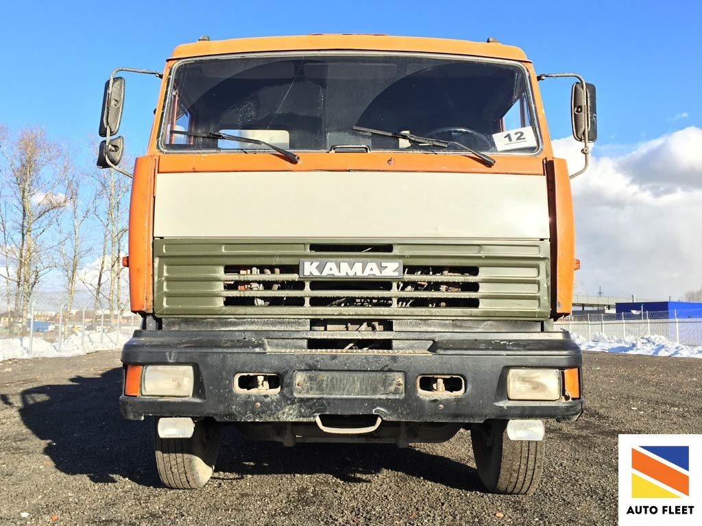 Автобетоносмеситель TIGARBO на базе шасси Камаз 532 29