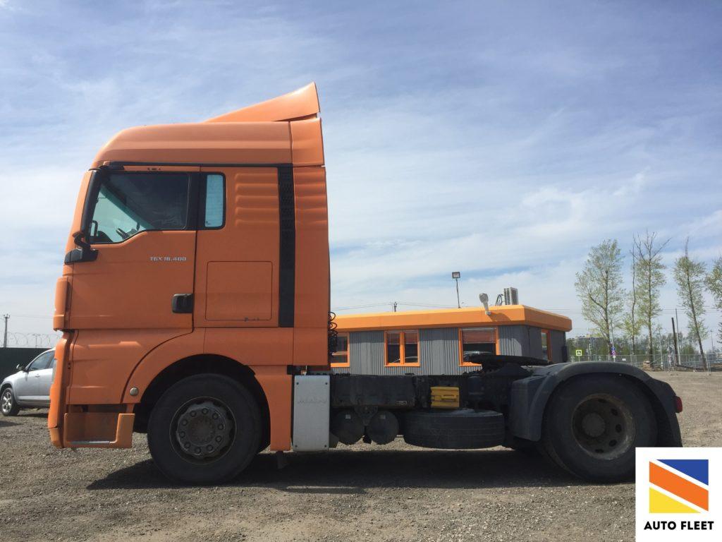 Man tgx 18.400 TRUCK седельный тягач