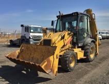 CLG777 A 4WD excavator loader