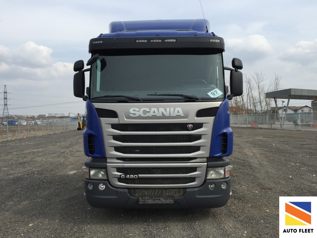 Scania G420 Griffin Space Higline