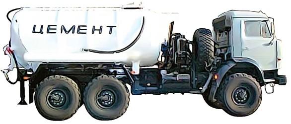 Цементовоз CEMENT TRUCK