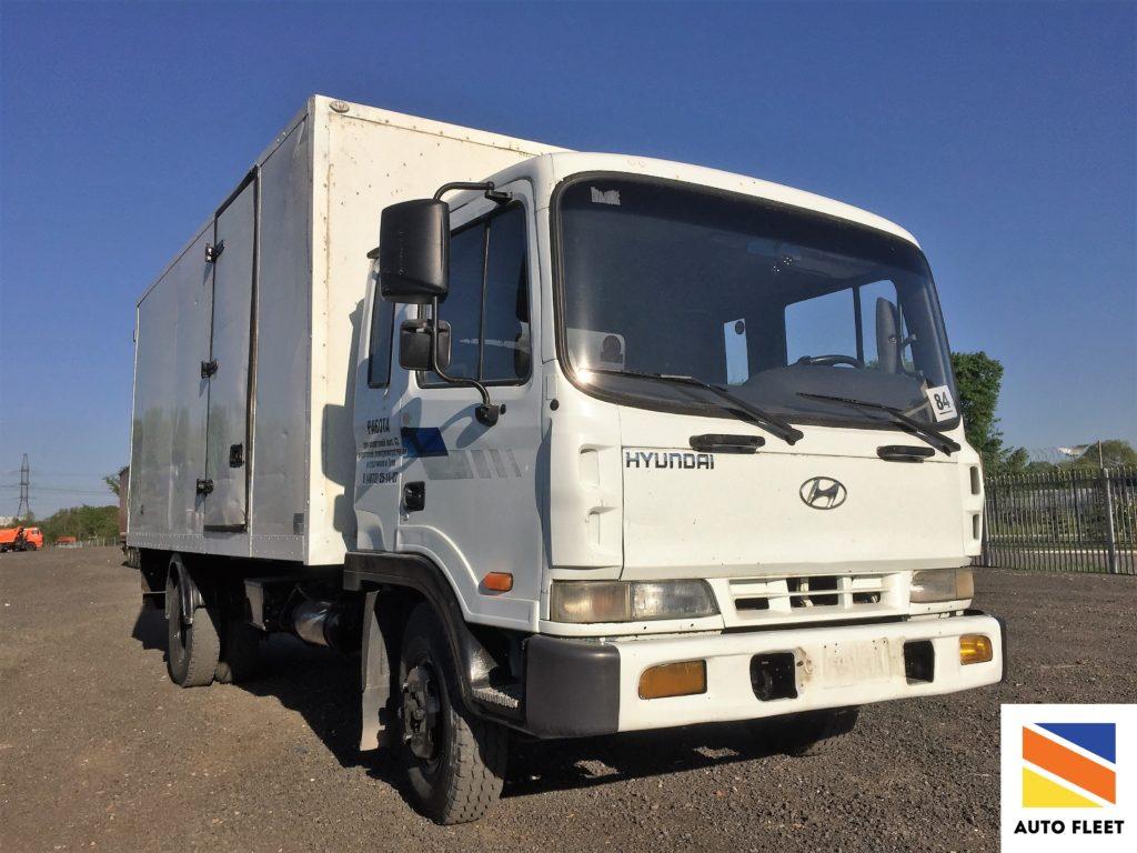 Hyundai HD120 грузовой фургон