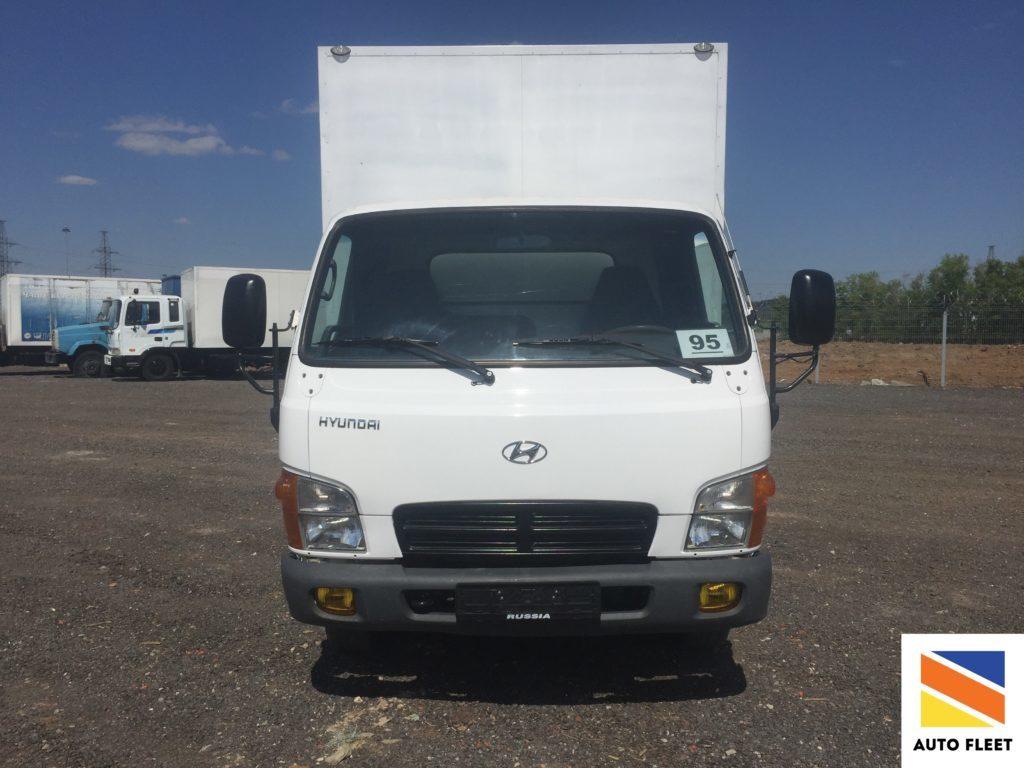 Грузовой фургон Hyundai HD72 (