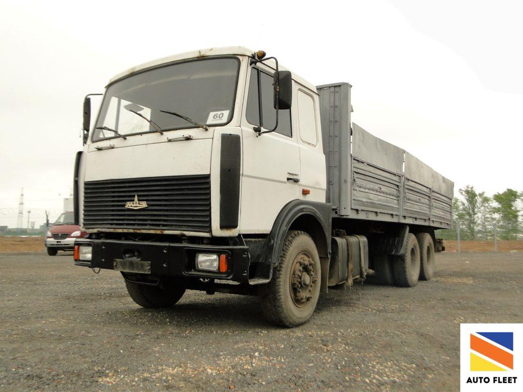 MAZ 6303 грузовик бортовой