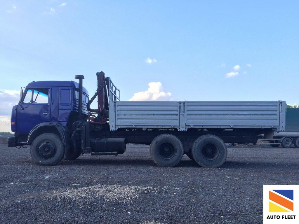 КМУ БАКМ 890-2 на базе КМАЗ