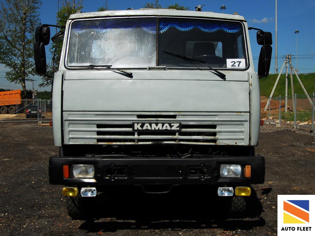 КАМАЗ 65400А 8х4 Бетономешалка