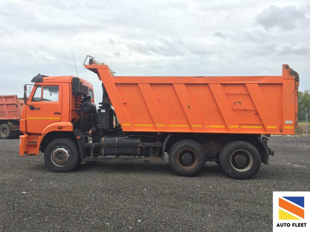 Камаз 6 520 грузовой самосвал.