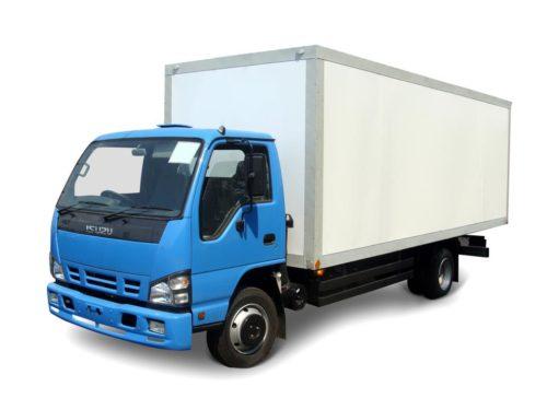 Изотермический фургон Isuzu ELF .