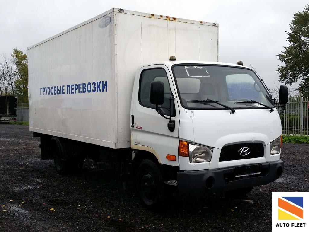 Изотермический фургон Hyundai HD78