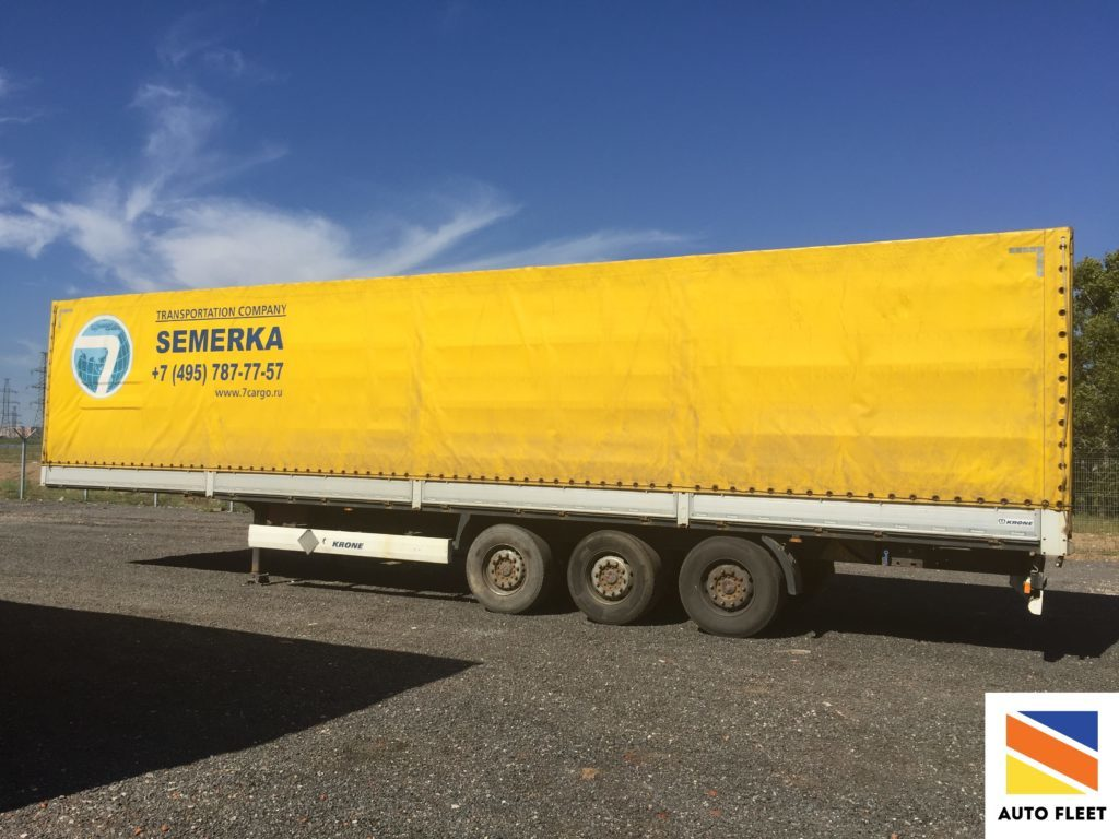 Krone Profi Liner SDP 27 eLB4-BW. борт-тент