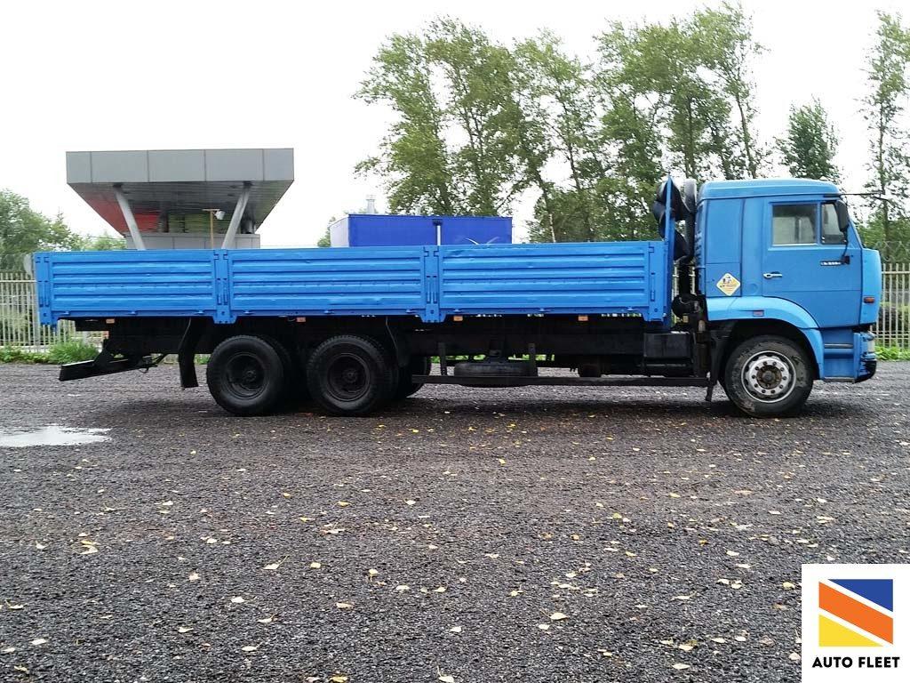 Камаз 65117-62 грузовик бортовой