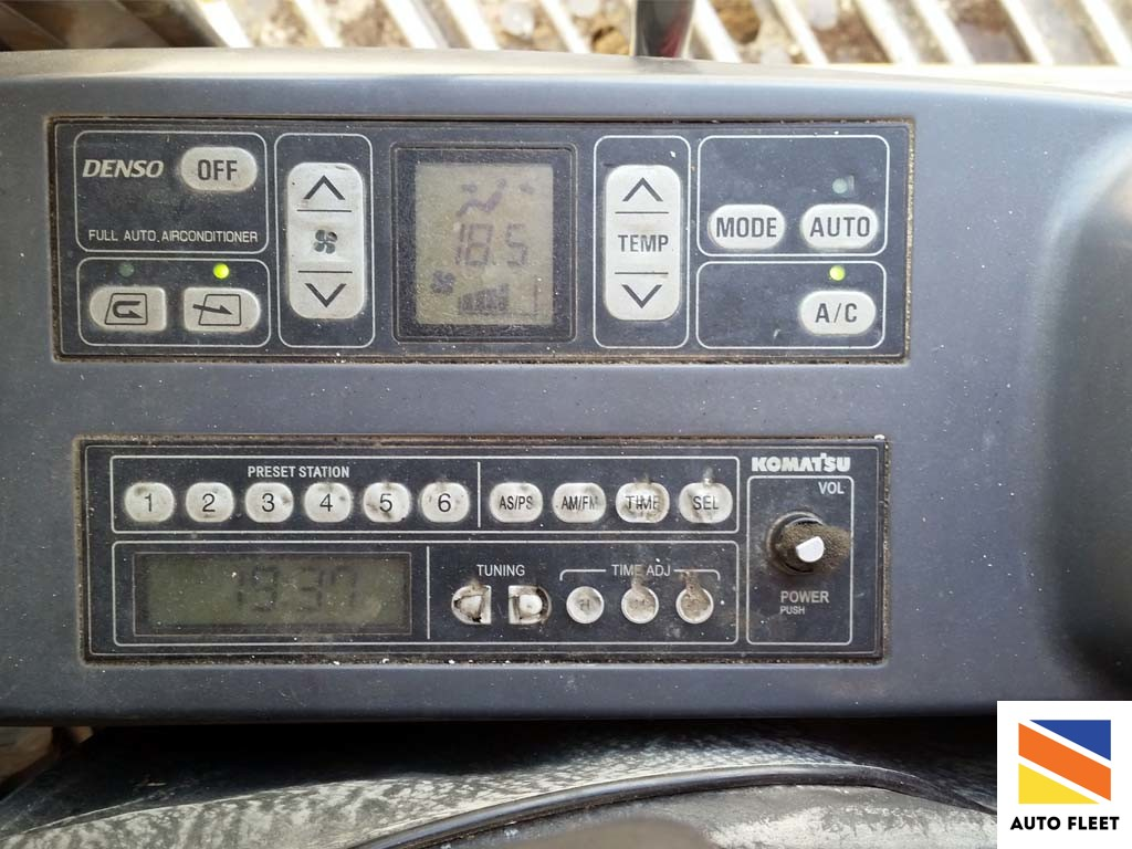Komatsu PC200-7 экскаватор