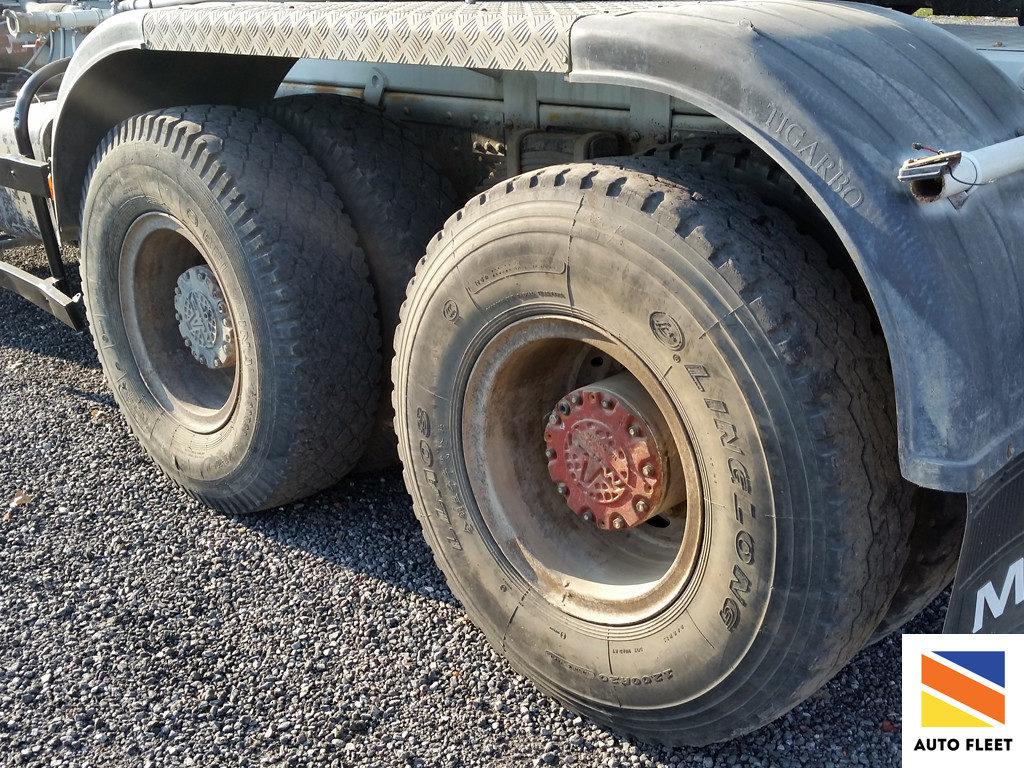 Бетоносмеситель Tigarbo на базе шасси Маз 6516А5-347