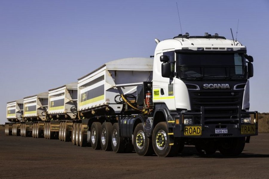 Автопоезд Scania R730V8 10х8