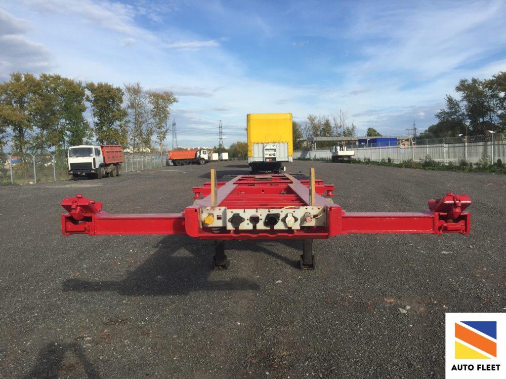 Schmitz Cargobull SCF 24 полуприцеп контейнеровоз