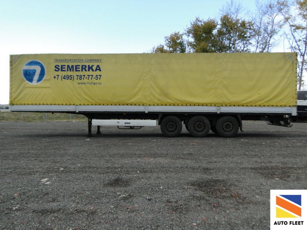 Krone SDP 27 борт-тент Profi Liner Полуприцеп