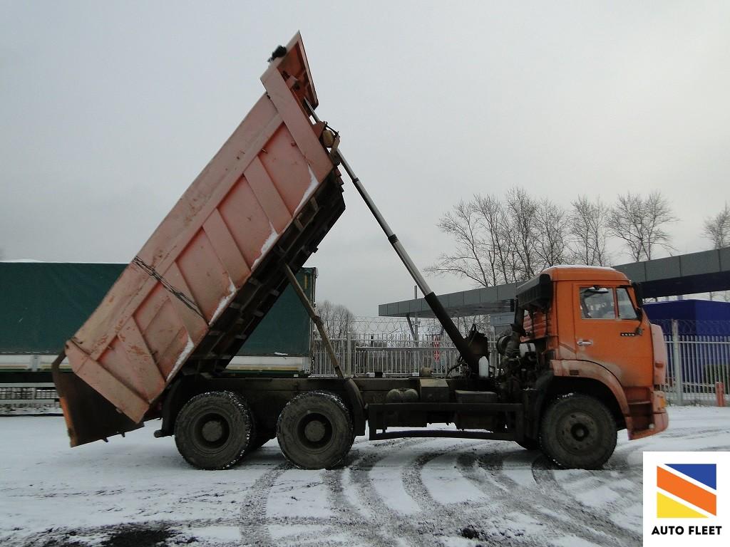 Самосвал Kamaz 6520 Dumper Truck