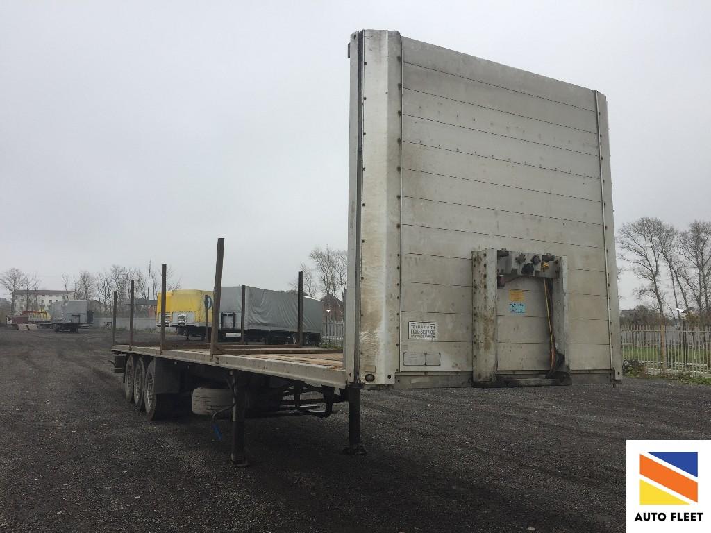 Schmitz Cargobull S01 лесовоз