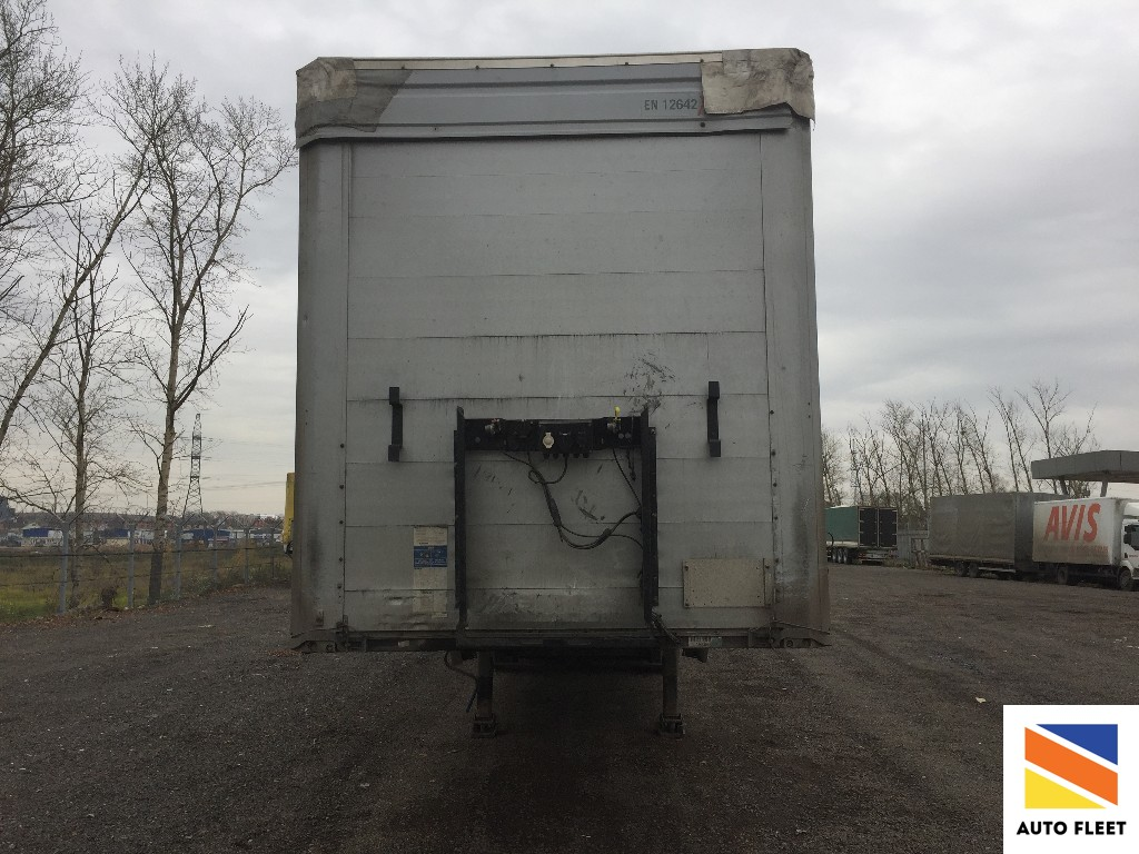 Kogel SN24 curtain semi-trailer