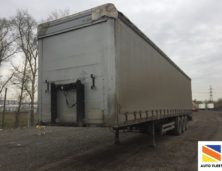 Kogel SN24 curtain semi-trailer