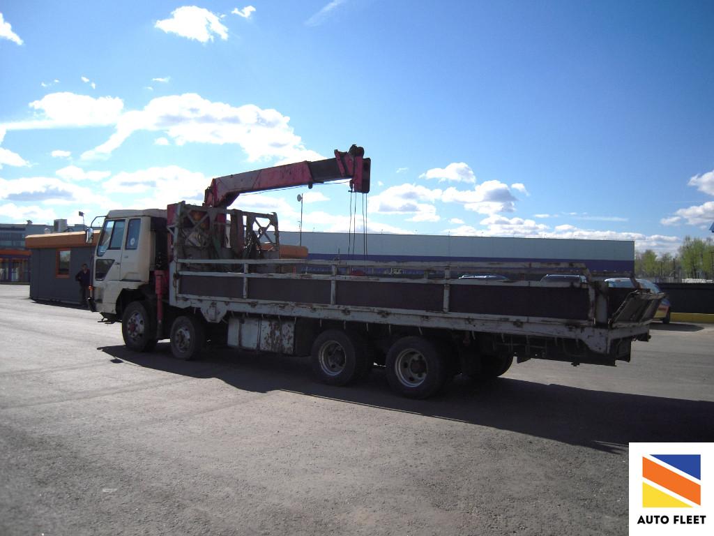 Mitsubishi Fuso Canter грузовик бортовой с КМУ ZR504G