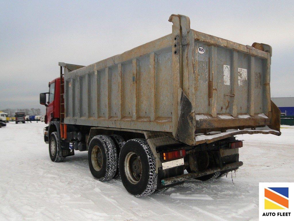 Cамосвал SCANIA P380