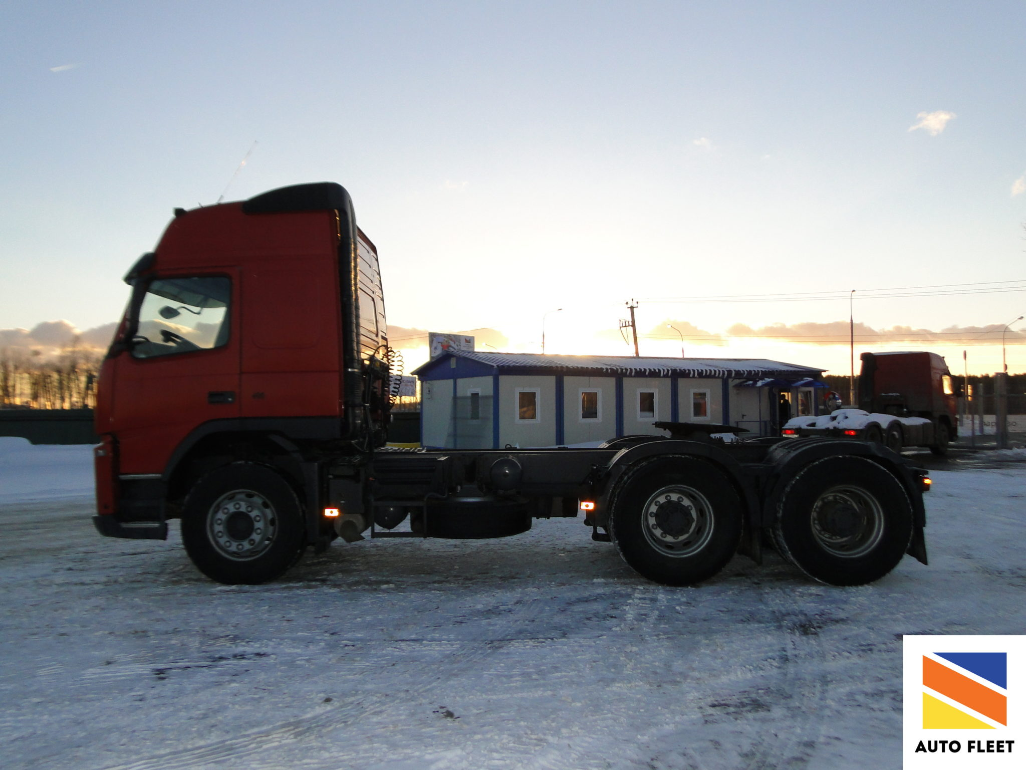 Volvo FM-Truck 6x4
