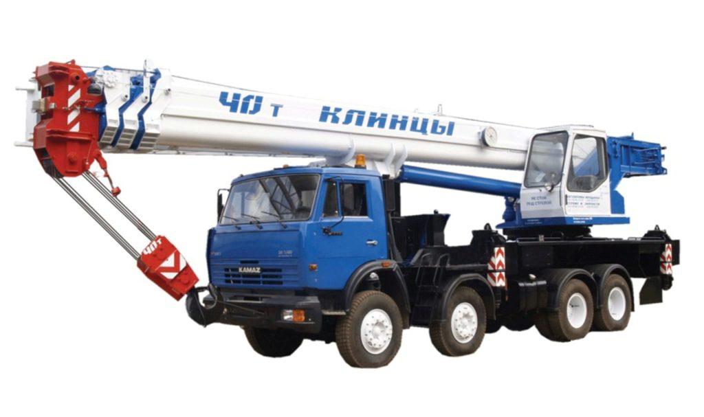 Автокраны на базе КамАЗ