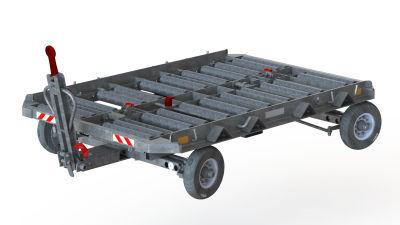 Прицеп контейнеровоз для аэропорта