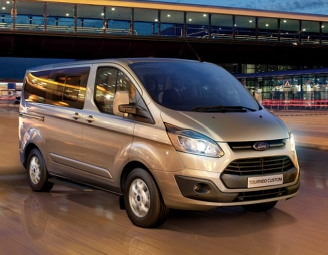 Tourneo Custom и Ford Transit Custom